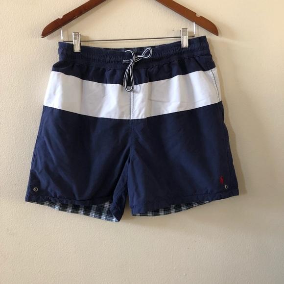 Ralph Lauren Classic Polo Series Black Beach Shorts